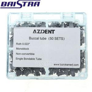 Azdent 1st Moloblock Bondable Non-Convertible Dental Buccal Tube pictures & photos