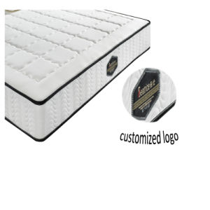 Jacquad Fabric Quilted Foam Pocket Spring Mattress pictures & photos