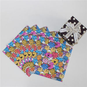 New Design Colorful Smile Face Paper Napkin 25*25cm/2ply & 25*25cm/3ply pictures & photos