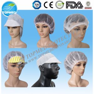 Detective Clip Cap Disposable Nonwoven Clip Cap, Mob Cap pictures & photos