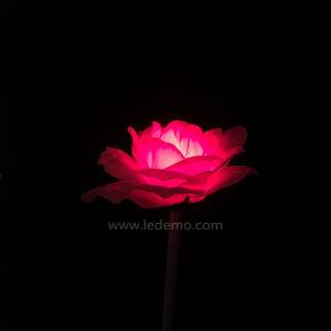 LED Christmas Light Textile Flower Light for Garden Decoration pictures & photos