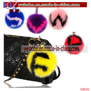 Promotional Items Rabbit Fur Keychain Fur Garment Corporate Gift (G8026) pictures & photos