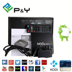 Mxq PRO S905X Smart Android TV Box Media Player S905X Android 6.0 pictures & photos