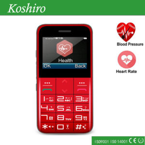 Healthy Location Mobile Phone with Heart Rate Blood Oxygen Monitor pictures & photos