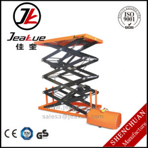 Stationary Three Scissor Electric Lift Platform/Electric Lift Table pictures & photos