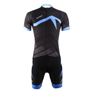 Special Men′s Short Sleeve Clothing Cycling Jersey Blue Sword pictures & photos