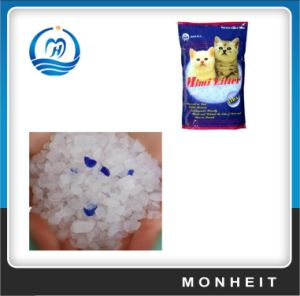 Low Dust Colored Silica Cat Sand Cat 1-8mm with Fragrance pictures & photos