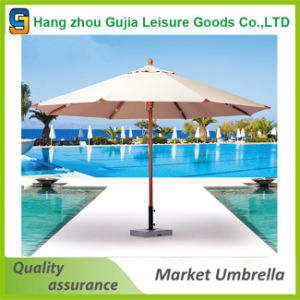 9FT Steel Waterproof Convenient Straight Market Umbrellas