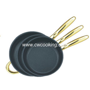 3PCS Stainless Steel Fry Pan - Non Stick pictures & photos