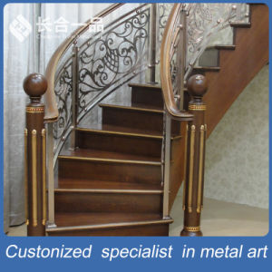 Customized 304#Stainless Steel Luxury Art Stair Railings for Indoor pictures & photos