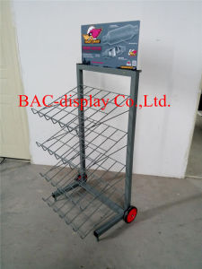 OEM Customized Metal Display Stand for Automobile Muffler pictures & photos