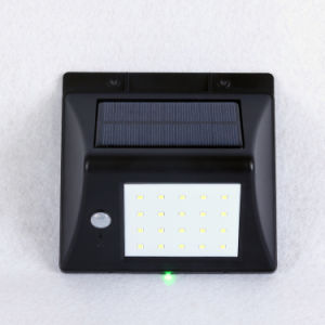 2017 New IP65 Motion Sensor Solar Wall Light 20LED Infrared Outdoor Security Garden Lamps pictures & photos