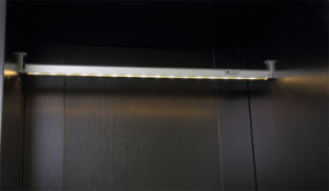 PIR Sensor LED Cabinet Light or Wardrobe Light with Lithium Battery pictures & photos