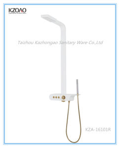 Kza-16101r White PMMA Shower Panel pictures & photos