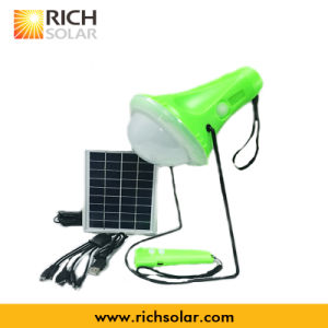 Multi-Functional Solar Lantern with Remote Control Garden Camp Lamp