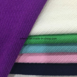 Twill Wool Fabric for Overcoat Ready Greige pictures & photos