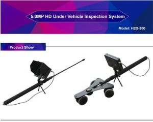 Digital HD Inspection Camera System/ Under Vehicle Inspection Camera System/Double HD Insepction Cameras pictures & photos