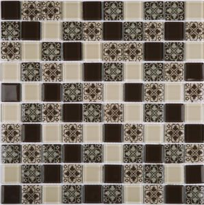 Cheapest Price Premium Crystal Glass Mosaic Kitchen Bathroom Tile pictures & photos