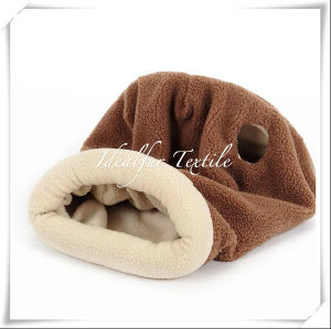 Polyester Fur / Sherpa Fur for Cat Sleeping Bag pictures & photos