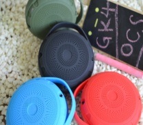 The Bluetooth Speaker with Colorful ABS Material