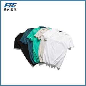 Blank T-Shirt or Custom T Shirt with UR Logo pictures & photos