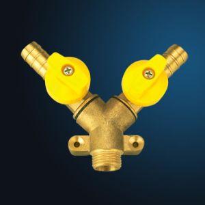 Brass Ball Gas Valve (MF18001) pictures & photos