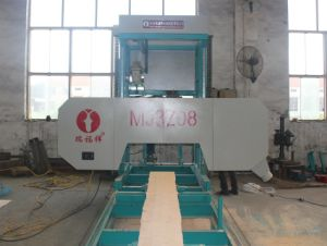 CNC Auto Working Horizontal Portable Strong Wood Cutting Sawmill/Horizontal Band Saw Machine pictures & photos