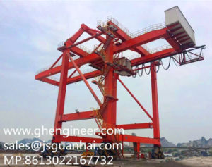 Mic Recommend This Bridge Type Ship Unloader to Middle East Client pictures & photos