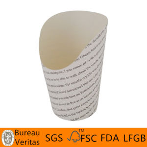 Disposable PLA Paper Chips Cup with PLA Coating pictures & photos
