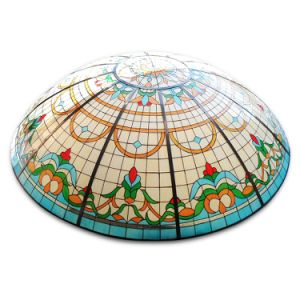 Wholesale Colorful Home Construction Custom Stained Glass Mosaic Dome Ceiling pictures & photos