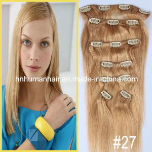 Clip-in Human Hair Extensions (HN-C-005)