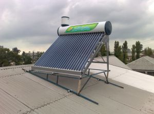 Copper Coil Solar Water Heater (ZY-2) pictures & photos