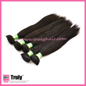 "100% Peruvian Remy Virgin Human Hair Extension, Natural Straight, 12""-30"", Natural Color"