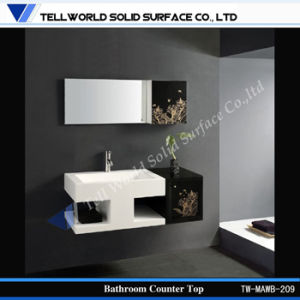 Contemporary Wash Basin with Solid Surface Material pictures & photos