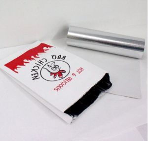 Grease Proof Paper Backed Aluminium Foil for Food Packaging pictures & photos