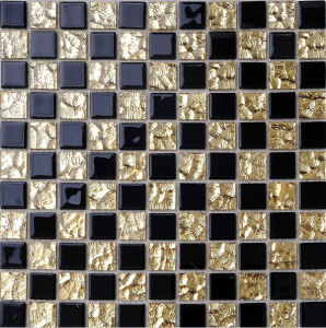 Wall Mosaic Glass Mosaic Tile (HGM230) pictures & photos