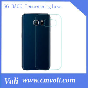 2.5D Explosion-Proof Back Tempered Glass Film for Samsung Galaxy S6 pictures & photos