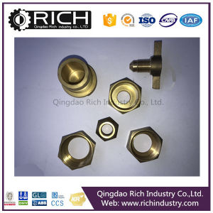 Brass Connector/Nut Bolts/Hub/Steering Knuckle for 04 Dodge Intrepid/Hardware/Valve Part Brass Forging Machined Part/Butterfly Valve Part of Brass Disc pictures & photos