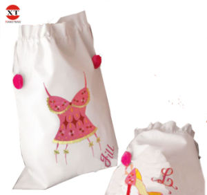 Cotton Drawstring Gift Bag pictures & photos