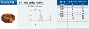 SP Type Series Muffler