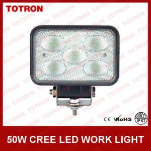 "LED Work Light (CREE LEDs) 3.8"" X 5.7""50W 9-32V Rectangular pictures & photos"
