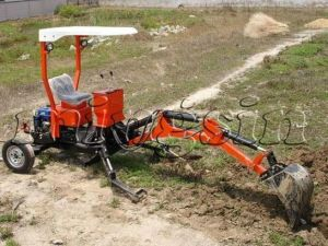 Tb Series Towable Backhoe (MSTB-001) pictures & photos