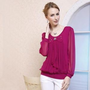 Lady′s Cotton T-Shirts (11S137)