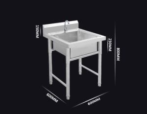Stainless Steel Sink with Undershelf and Bowl pictures & photos