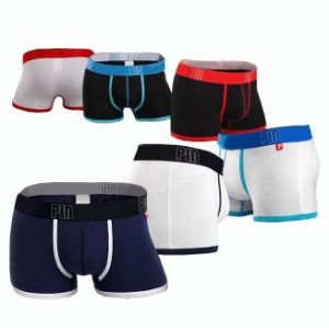 Men′s Cotton Boxer Briefs/ Men′s Underwear in Stock (TSMPM205)
