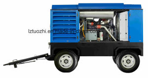 Atlas Copco-Liutech 748cfm 10bar Rotary Portable Diesel Air Compressor pictures & photos