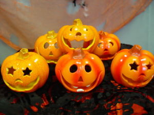 Cute Christmas Gift Ceramic Pumpkins