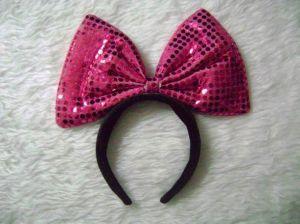 Bowtie Plastic Headband