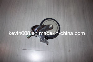 4 Inch Swivel Caster Wheel, Swivel TPR Casters
