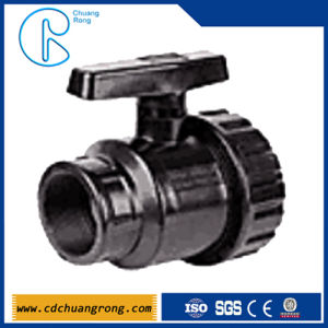 PPR Gate Female Union Ball Valve pictures & photos